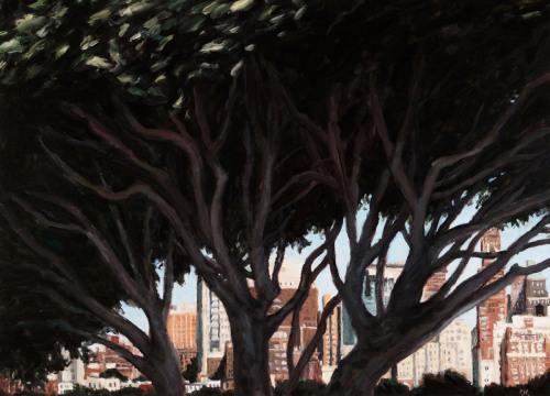 Brooklyn Through Trees