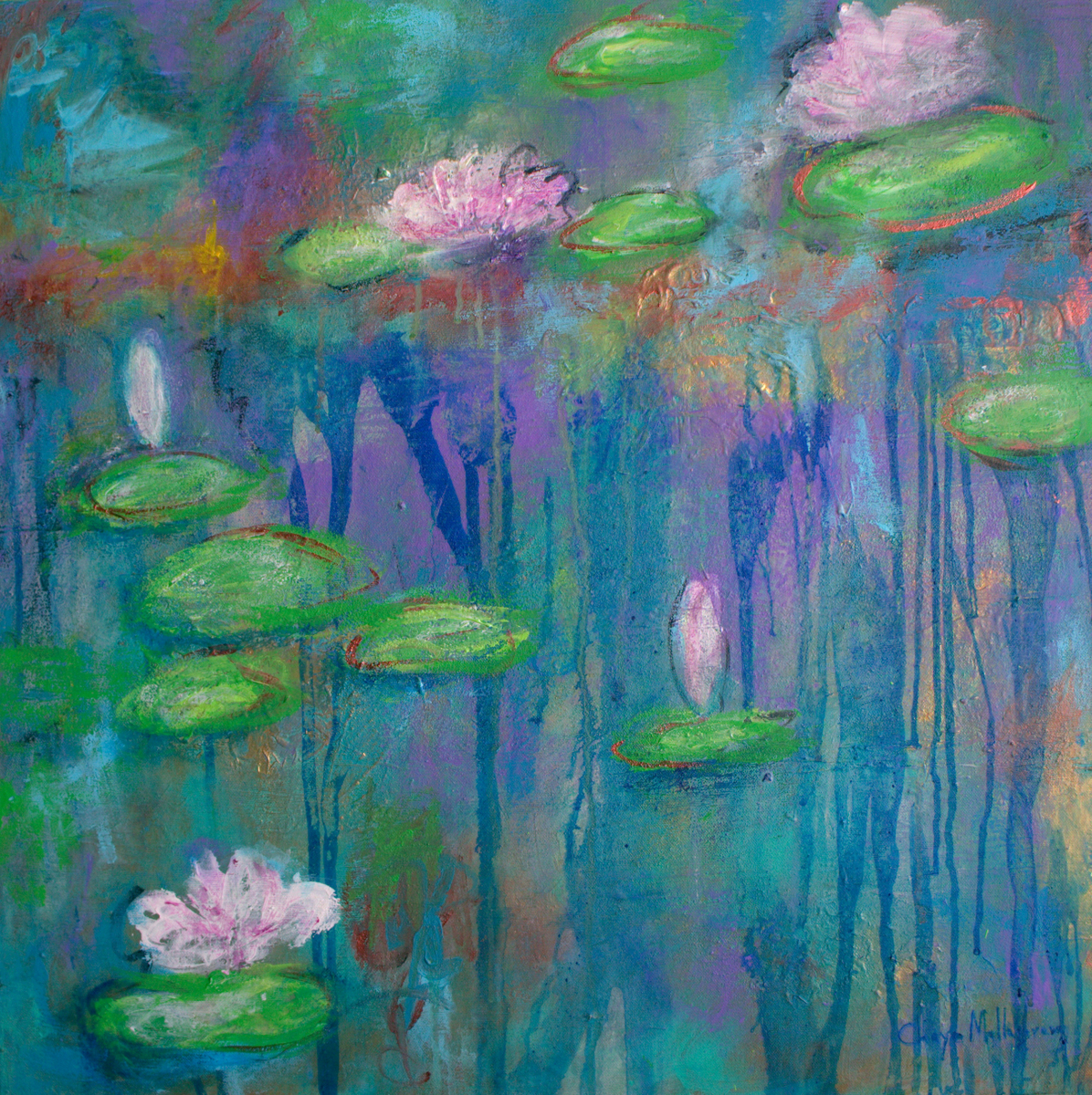 Musing Monet (large view)