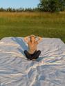 6:00 am  Subject:  Cynthia McVay, 46, Artist, Location:  Field Farm, River Road, Ulster Park, NY