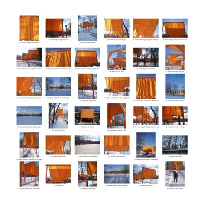 Photography-Color-the gates: orange, 2005