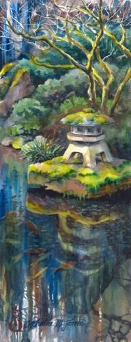 Moss Garden Lantern