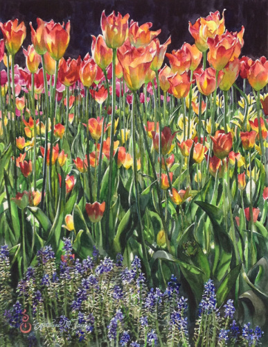 Tulip Tapestry