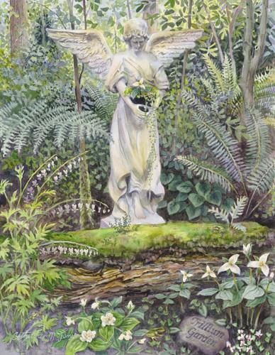 Gardening Angel (large view)