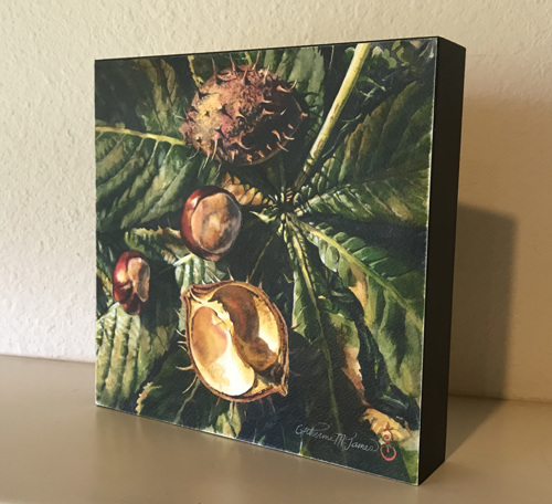 Autumn Treasures, Chestnuts - Box Print (large view)