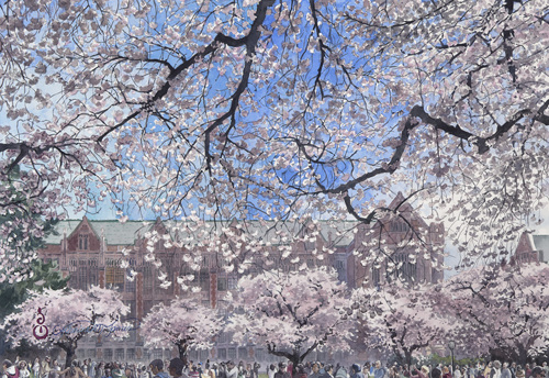 Hanami, Seattle by Catherine M. James