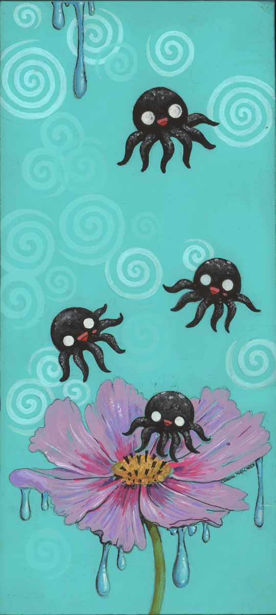 Octo-Bees (large view)