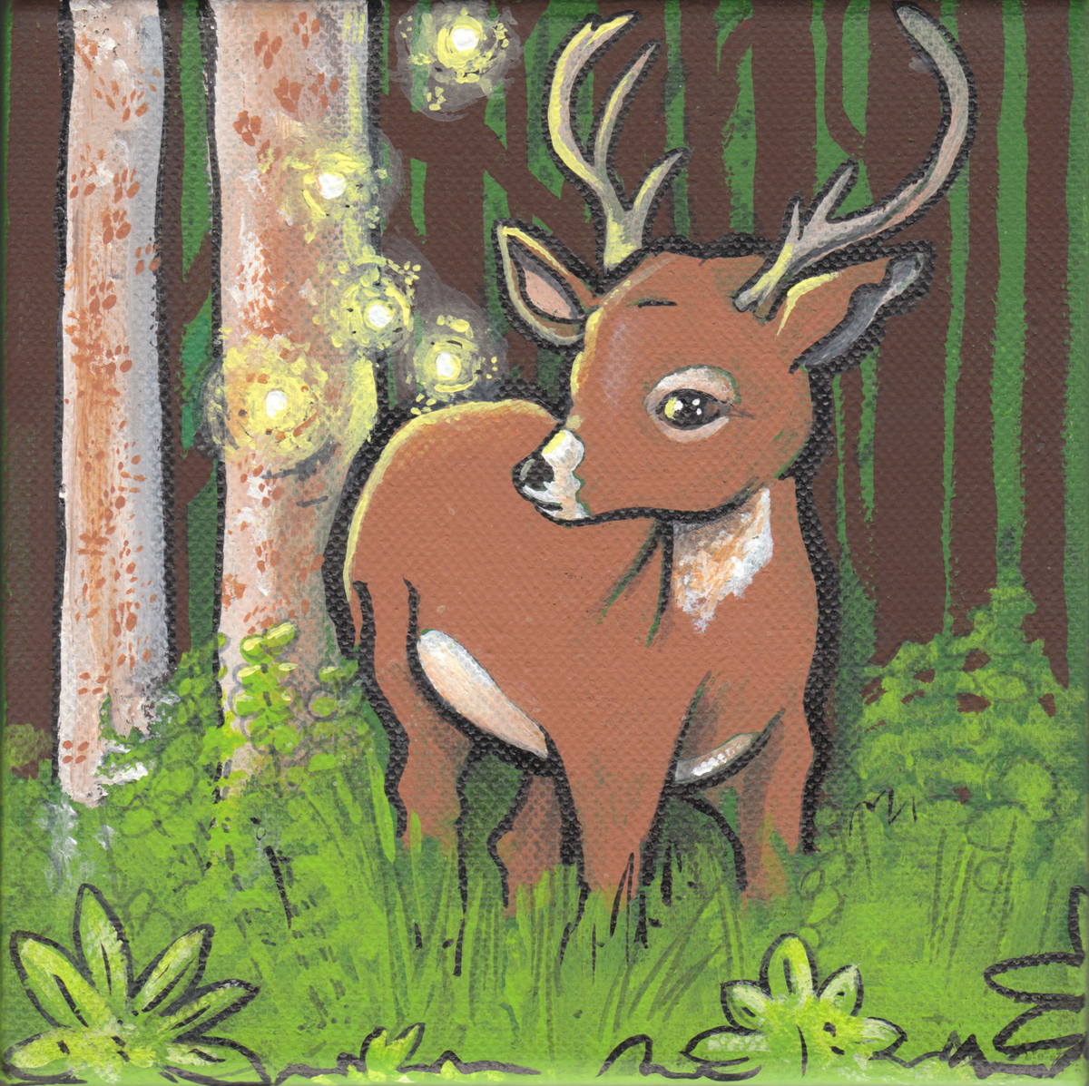 Firefly Deer (large view)