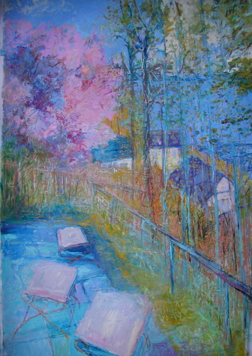 """Piermont Spring...three tables"" (large view)"
