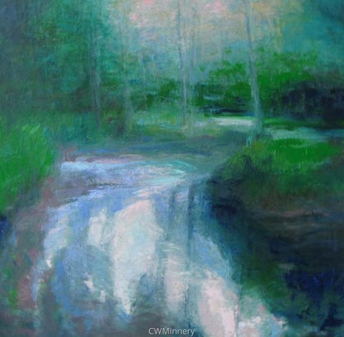Summer Quiet by             Catherine Wagner Minnery- fine artist/painter