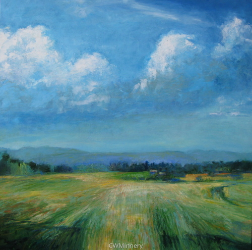 Fields/Salem NY by             Catherine Wagner Minnery