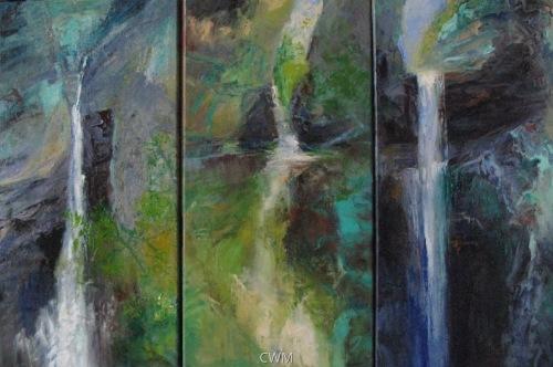 Watkins Glen Abstractions/Triptych