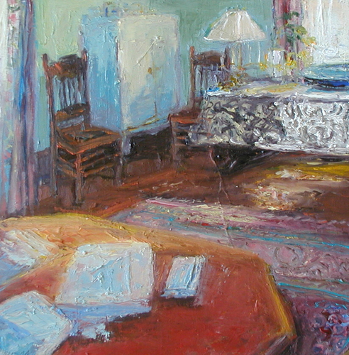 Sunday Afternoon by             Catherine Wagner Minnery- fine artist/painter