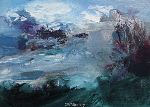 #4 (wind) by             Catherine Wagner Minnery- fine artist/painter