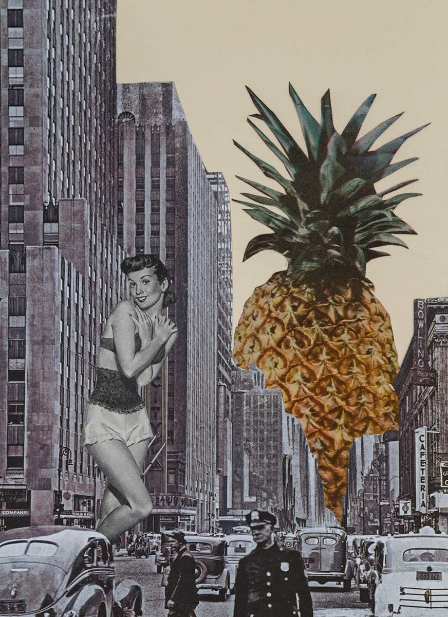 NY Pineapple Girl (large view)