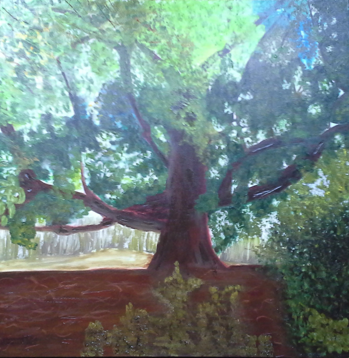 """""""White Oak"""" (large view)"""