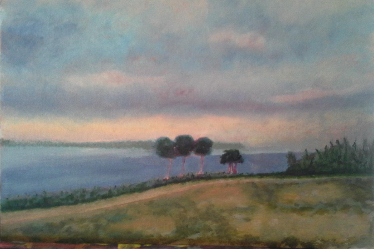 """""""Belmont Bay"""" (large view)"""
