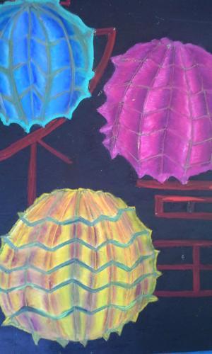 """""""Chinese Lanterns"""" (large view)"""