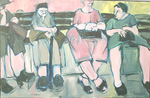 Bench Conversation (large view)