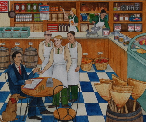 General Store Illustration