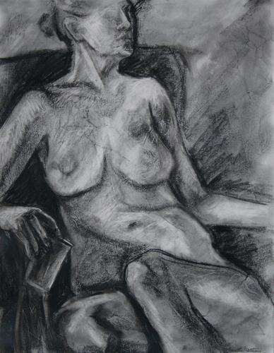 Female Figure  by Concetta Mattioni