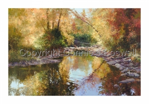 Autumn Reflections by Connie J Boswell
