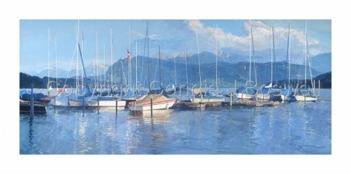 Lake Lucerne by Connie J Boswell