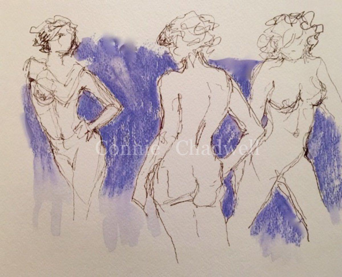 """Lavender Nudes"" (large view)"