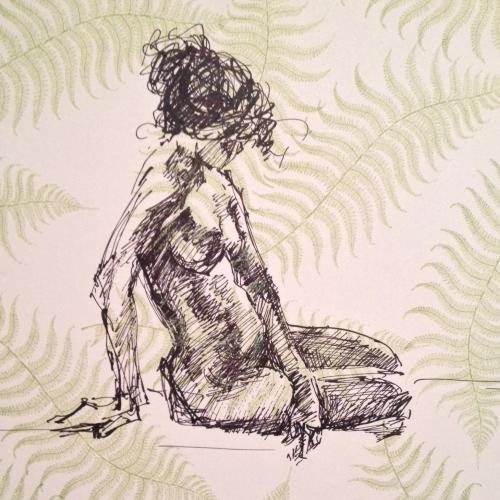 """Scribbled Nude"""