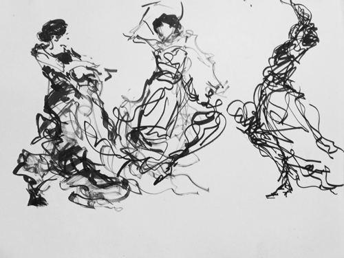 """""""Dancers in Lines"""""""
