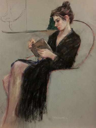 """Woman Reading"""
