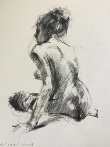 """""""A Quick Life Drawing"""" (large view)"""