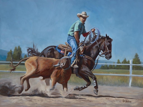 Rodeo Paintings