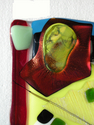 Dichroic Glass and Cabachon (detail) (thumbnail)