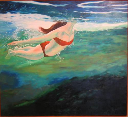 He drew me out of mighty waters by Carolyn Rekerdres