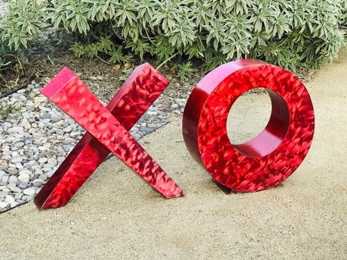 Love Letters by CHARLES SHERMAN    Infinity Sculpture and Design