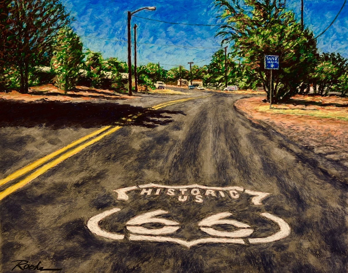 """""""The Mother Road"""" (large view)"""