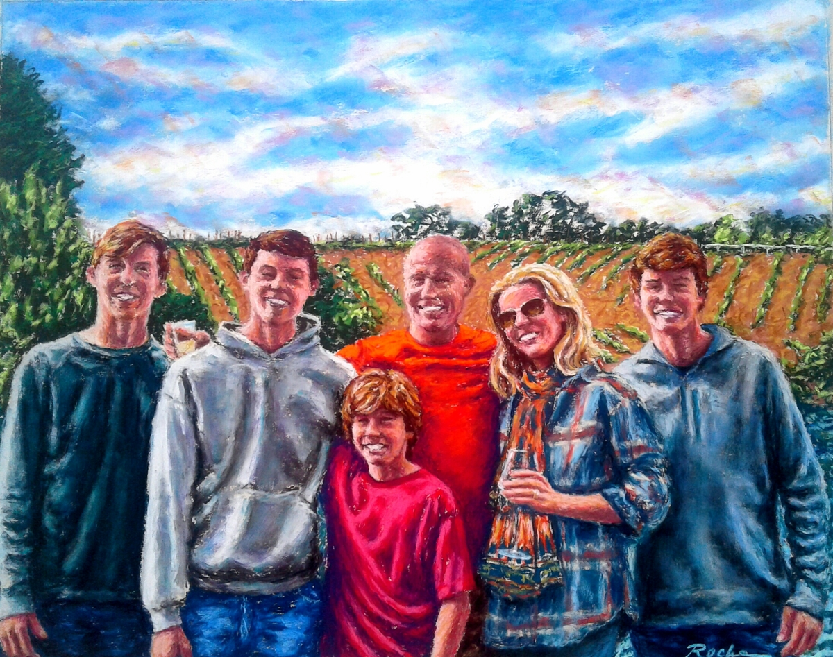 """""""Family""""- Orignal SOLD (large view)"""