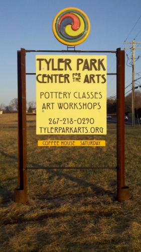 Sign for Tyler Park Center for the Arts