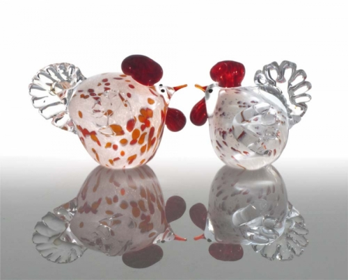 Glass Chickens