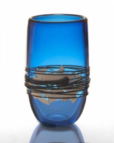 Silver Foil Vase