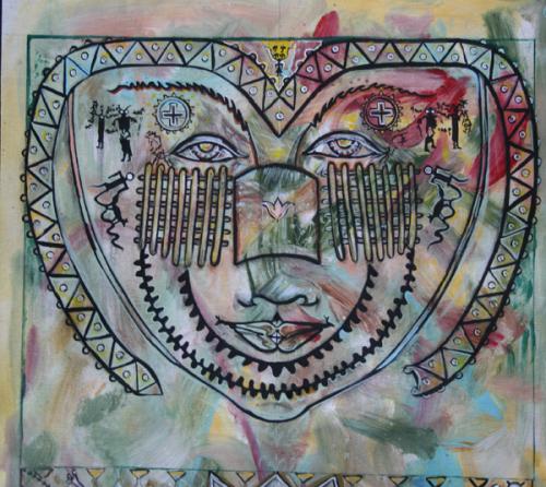 Petroglyph Mandala Study I
