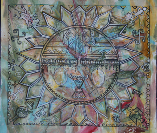 Petroglyph Mandala Study II