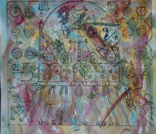 Petroglyph Mandala Study III