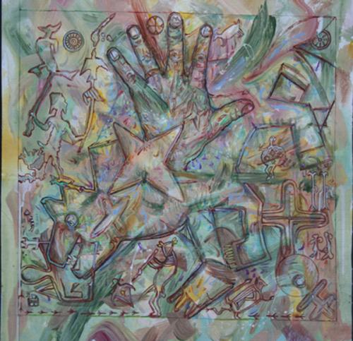 Petroglyph Mandala Study IV