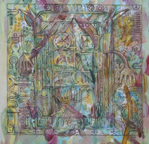 Petroglyph Mandala Study V