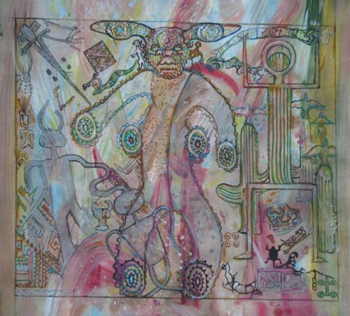 Petroglyph Mandala Study IX