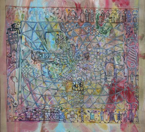 Petroglyph Mandala Study X