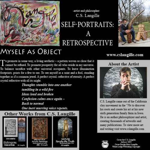 Self-Portraits Back Cover