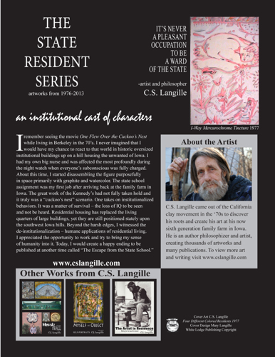 State Resident Series Back Cover