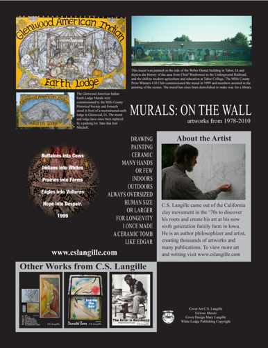 Murals: On the Wall Back Cover
